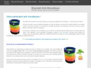 Bracelet anti moustique naturel effet durant 180heures ( 7 jours )