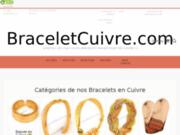 screenshot http://www.braceletcuivre.com bracelet magnetique