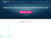 screenshot http://www.brandsupply.fr création de logo