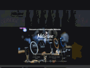 screenshot http://www.brasserie-melusine.com bières artisanales mélusine