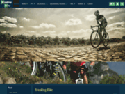 screenshot http://www.breaking-bike.com équipements spécial vélos