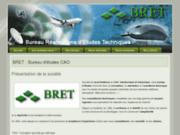 screenshot http://www.bret.pro bret : bureau d'études cao