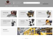 screenshot http://www.brico-pro.tn/ matériel de bricolage, de bâtiment, de garage et de manutention.