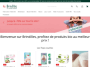 screenshot http://www.brindilles.fr couches lavables