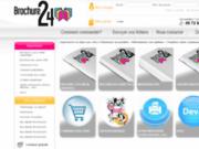 Brochure24 est un site d'impression en ligne spécialisé dans la brochure de qualitée