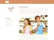 screenshot http://www.brodetco.com broderie professionnelle pour entreprise, association
