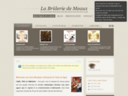 screenshot http://www.brulerie-meaux.fr boutique de café