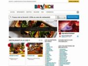 screenshot http://www.brunch.fr/ brunch sur Paris