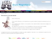 screenshot http://www.bruno-magnetiseur.fr.nf Bruno magnétiseur Le Mesnil Esnard