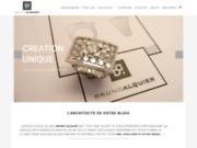 screenshot http://www.brunoalquier.com bruno alquier - l'architecte de votre bijou