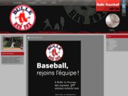 Equipe sportive de baseball à Bulle (Suisse)