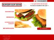 screenshot http://www.burgersurseine.com/ livraison sandwich nuit 93