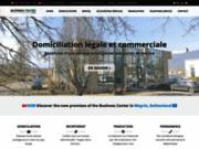 screenshot http://www.businesscenter-01.com centre d'affaires domiciliation ain haute-savoie