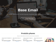 screenshot https://www.businessemaildatabase.org/ Base email