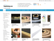 screenshot http://www.buyledstrip.com/fr bande led flexible - buyledstrip.com