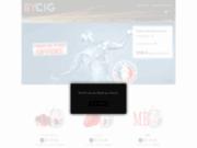 screenshot http://www.bycig.com . Les e-liquides offerts par BYCIG