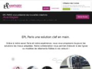 screenshot http://www.byepl-paris.com EPL Paris