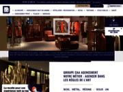 Groupe CAA, l'agencement haut de gamme pour les professionnels