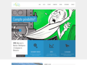 screenshot http://www.cabinet-agile.fr Gestion des Ressources Humaines Avignon, Management, audit sécurité 84