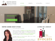Cabinet d'avocat de Maître Karine BOEUF-ETESSE (Nice, Alpes Maritimes)