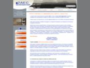screenshot http://www.cabinet-comptable.com expert-comptable - cabinet 2aec - paris - 75