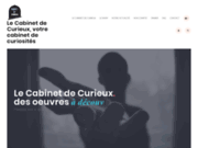 Cabinet de Curieux, votre cabinet de curiosités
