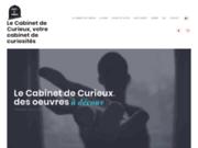 screenshot https://www.cabinet-de-curieux.com Cabinet de Curieux, votre Cabinet de Curiosités
