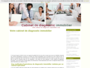 screenshot http://www.cabinet-de-diagnostic-immobilier.com ozon'eco, expertise, diagnostic immobilier