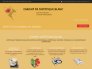 screenshot http://cabinet-de-nutrition-et-dietetique.eu cabinet de diététique et nutrition