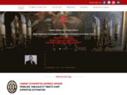 screenshot http://www.cabinet-georges-omouri.com expert en antiquités, mobilier et objets d'art