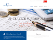 screenshot http://www.cabinet-rec.fr/ Cabinet REC