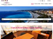 screenshot http://www.cabinetvogue.com immobilier nice