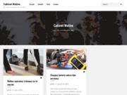 screenshot http://www.cabinetwatine.fr responsabilité civile professionnelle