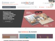 screenshot http://www.cadactuel.com objets pub  cadeaux de communication en ligne