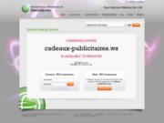 Affaires et Recherche d'objets publicitaires