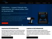 L'imprimante 3D Stratasys Objet 30 prime disponible chez Cadvision
