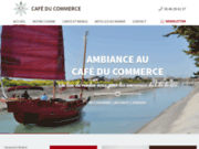 screenshot http://www.cafcom-ars.com/ Café du Commerce