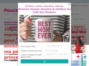screenshot http://www.cafedesmamans.com/ le café des mamans