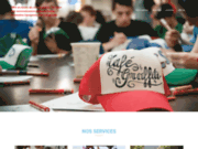 screenshot http://www.cafegraffiti.net café-graffiti milieu artistique pour culture hip hop. graffiti, break-dance, dj et rap