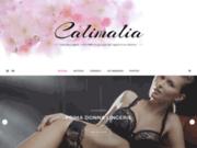 screenshot http://www.calimalia-lingerie.fr calimalia