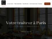 screenshot http://www.calixir.fr/ traiteur événementiel