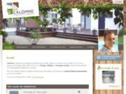 screenshot http://www.calomne.be pavage, dallage et terrasse bois