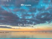 screenshot http://www.calvados-tourisme.info comité départemental du tourisme du calvados