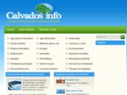 screenshot http://www.calvados.info annuaire du calvados