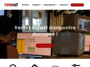 screenshot https://www.camalo.fr/ Prestataire logistique pour entreprise de e-commerce