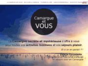 screenshot http://www.camargue-et-vous.fr La Camargue secrète et mystérieuse
