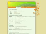 screenshot http://camille.descombes.free.fr création de sites web internet, webmaster, webdeveloper, webdesigner