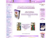 screenshot http://www.camoin.com lecture du tarot avec l'école camoin