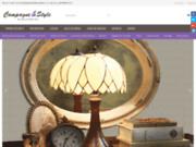 screenshot http://www.campagneetstyle.com/ boutique de décoration campagne