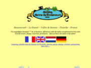 screenshot http://www.camping-bouzencourt.fr la ferme de bouzencourt